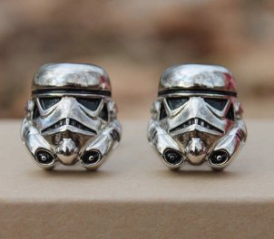 storm trooper cuff links