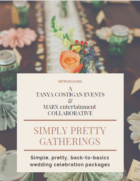 Simply Pretty Gatherings Brochure